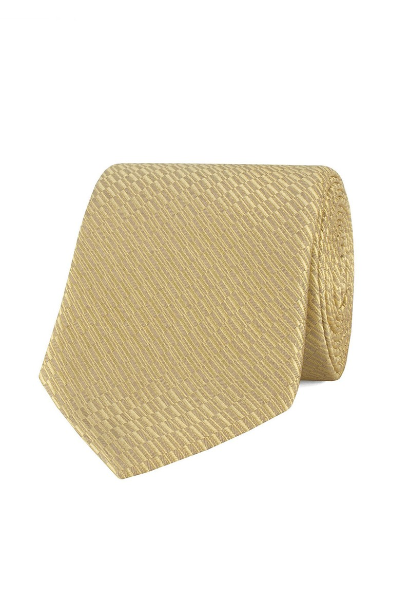Stvdio Gold Irregular Textured Tie