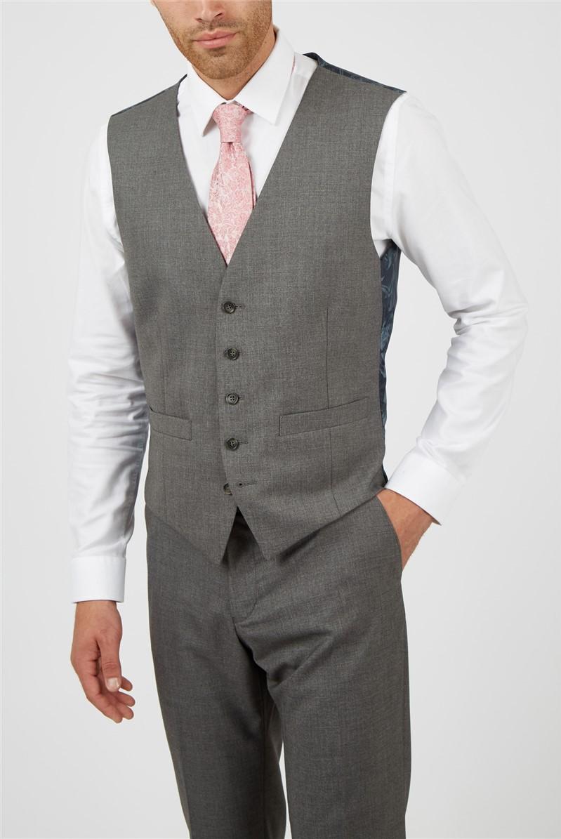 Grey Plain Waistcoat