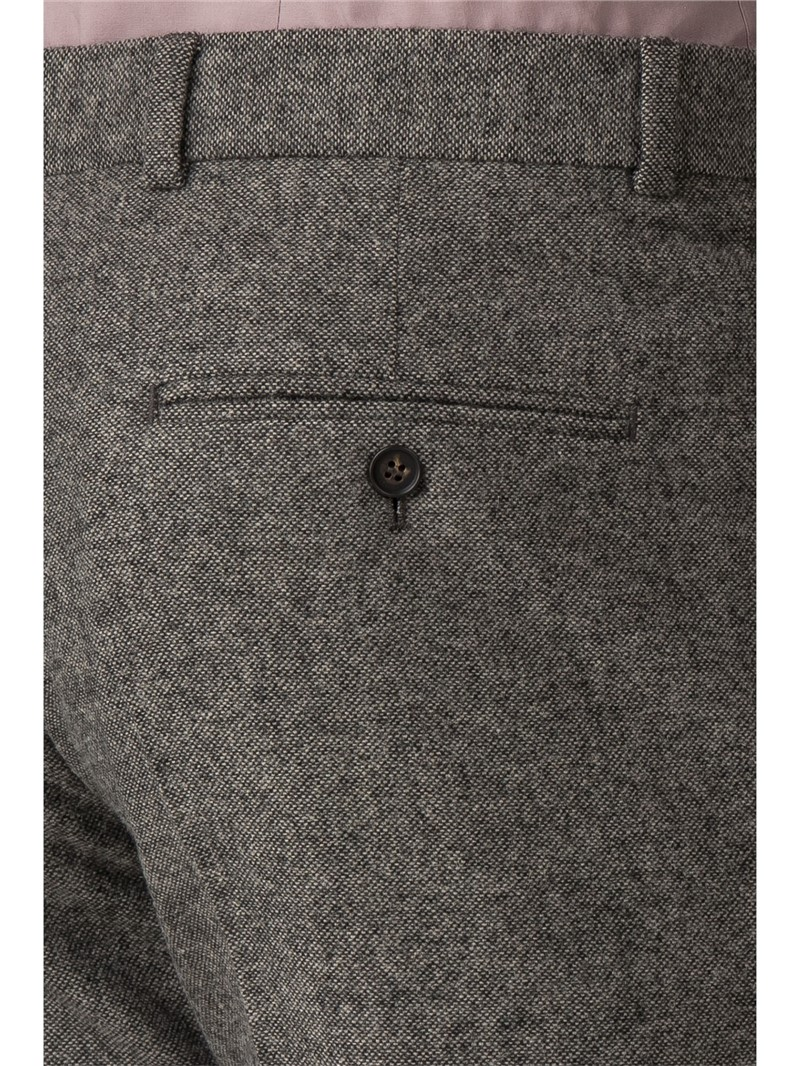 Oatmeal Donegal Slim Fit Suit Trouser