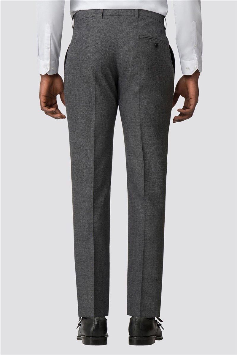 Charcoal Razor Edge Slim Fit Trouser