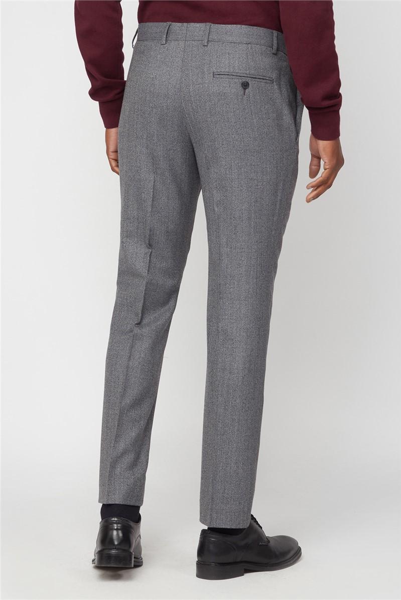 Grey Jaspe Suit Trouser