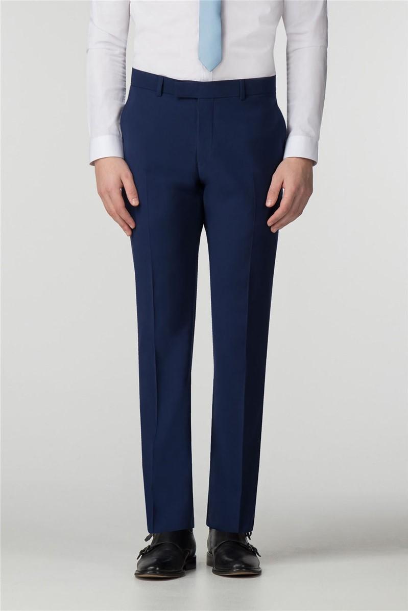 Scott & Taylor Blue Skinny Fit Trouser