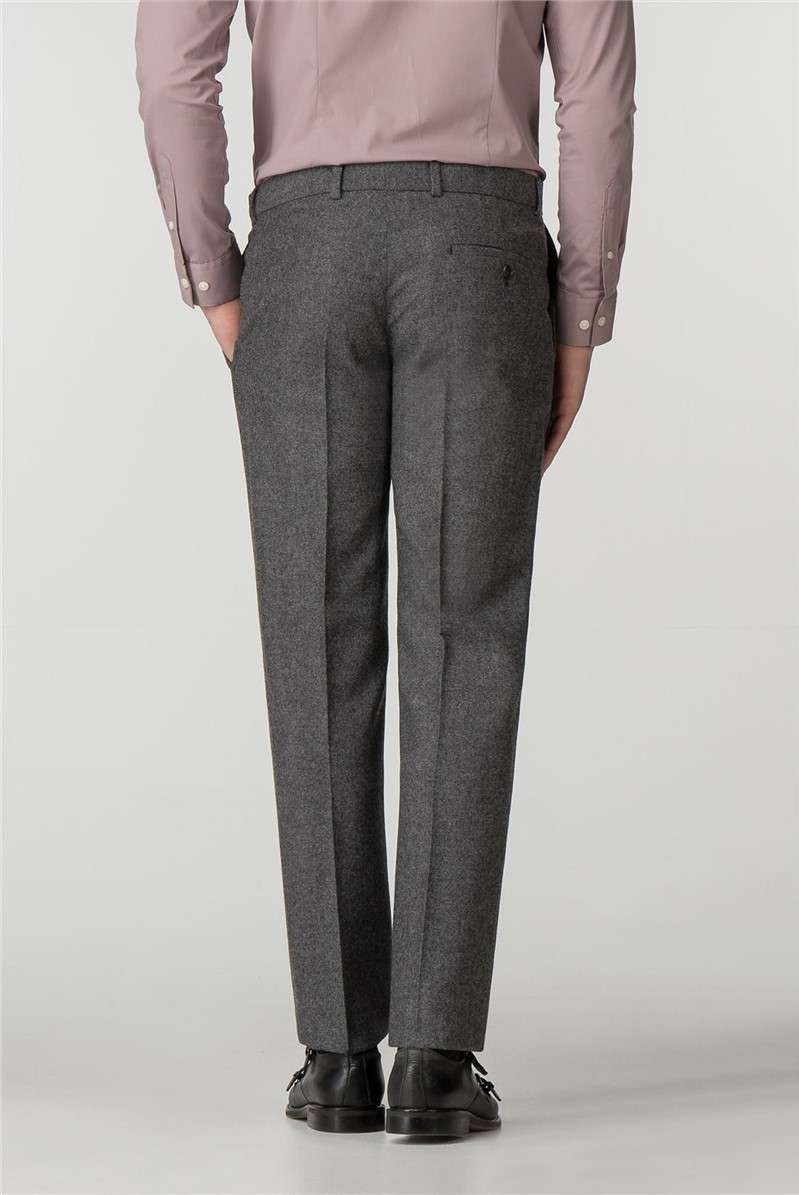 Grey Donegal Slim Fit Trousers