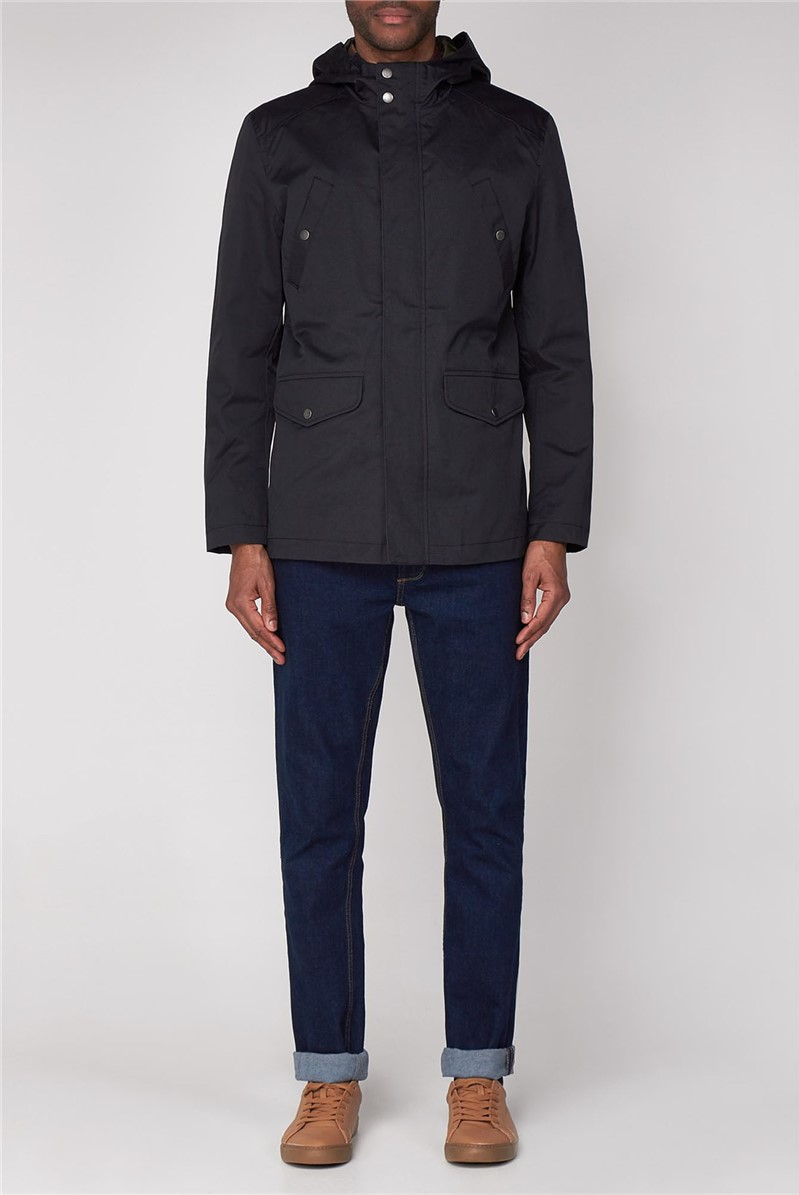 4 Pocket Coated Cotton Jacket