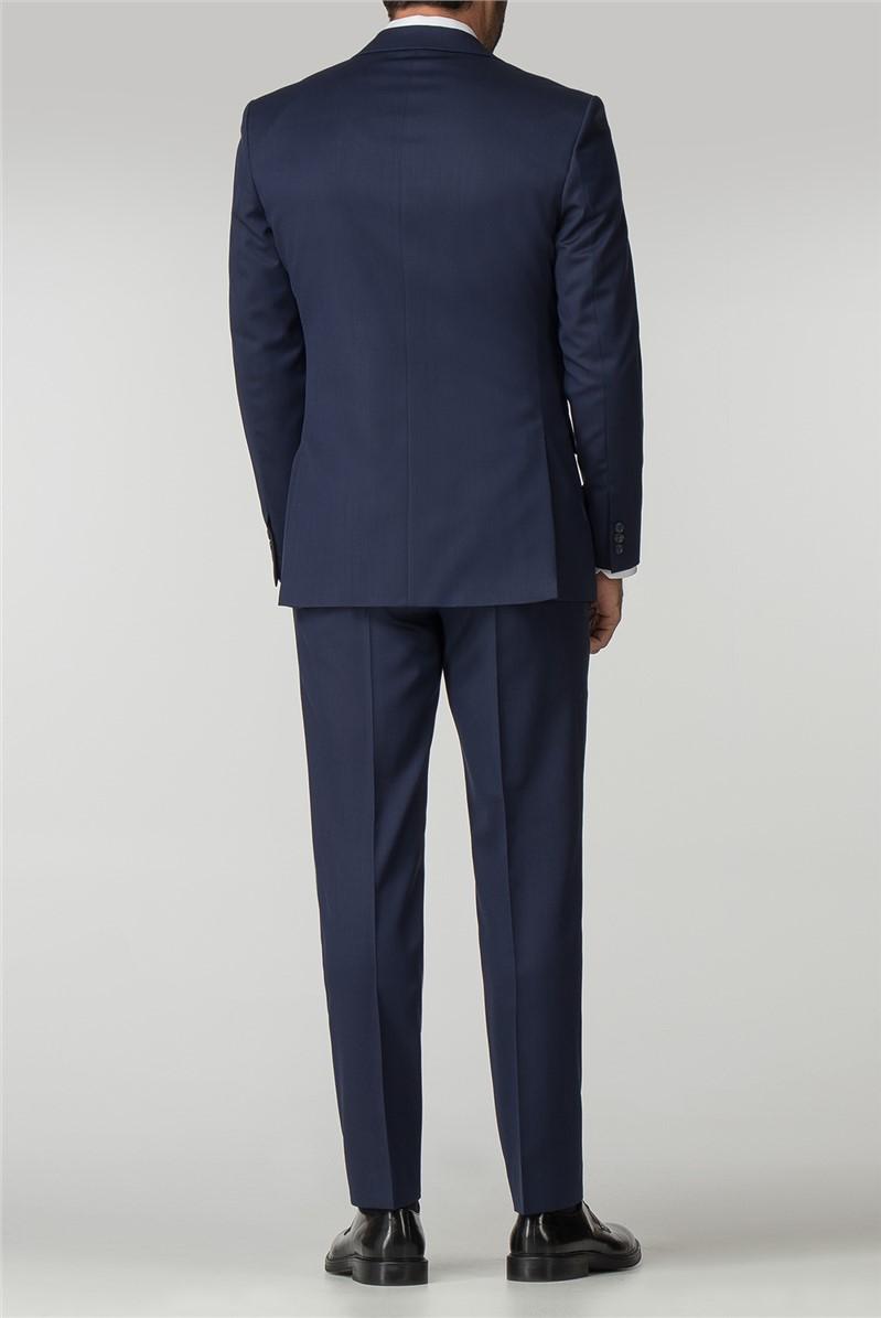 Performance Navy Twill Regular Fit Jacket