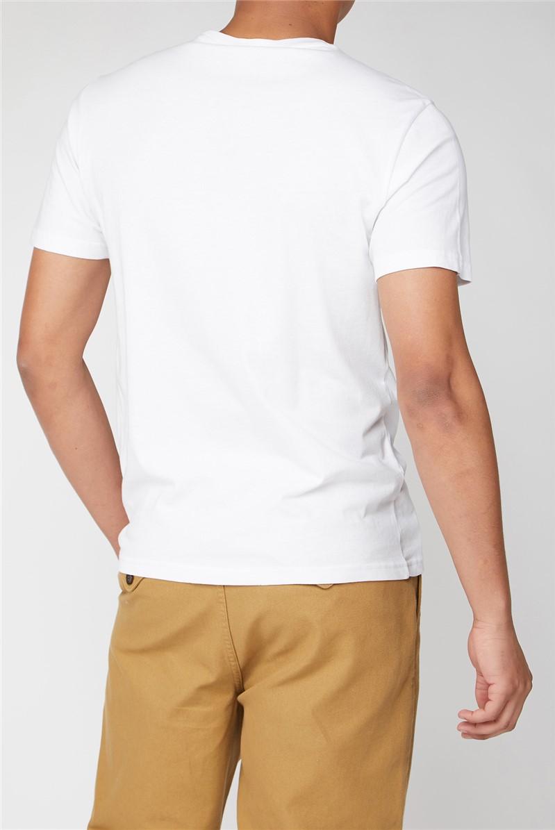 White Chest Target T-Shirt