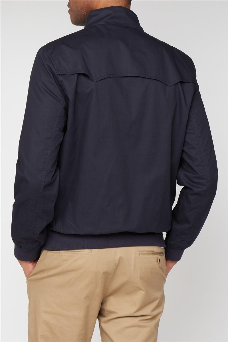 Navy Harrington Jacket