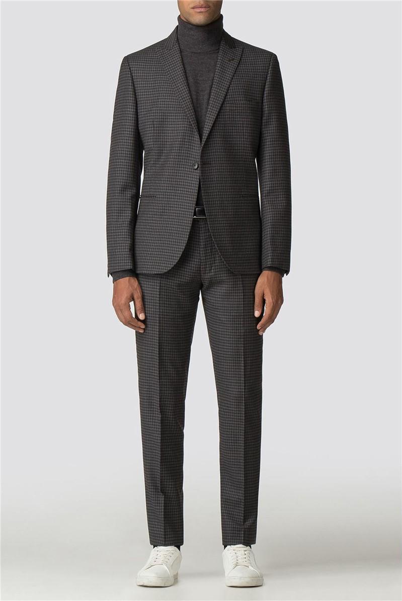 British Crepe Gingham Camden Suit