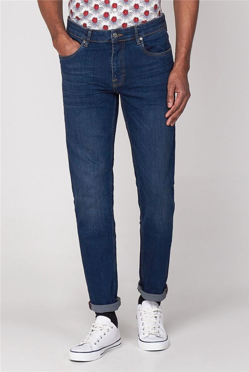 Slim Fit Stone Wash Jean