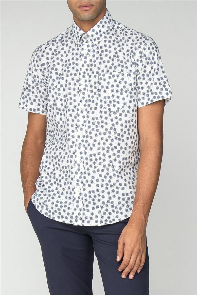 Scattered Scratch Geo Shirt