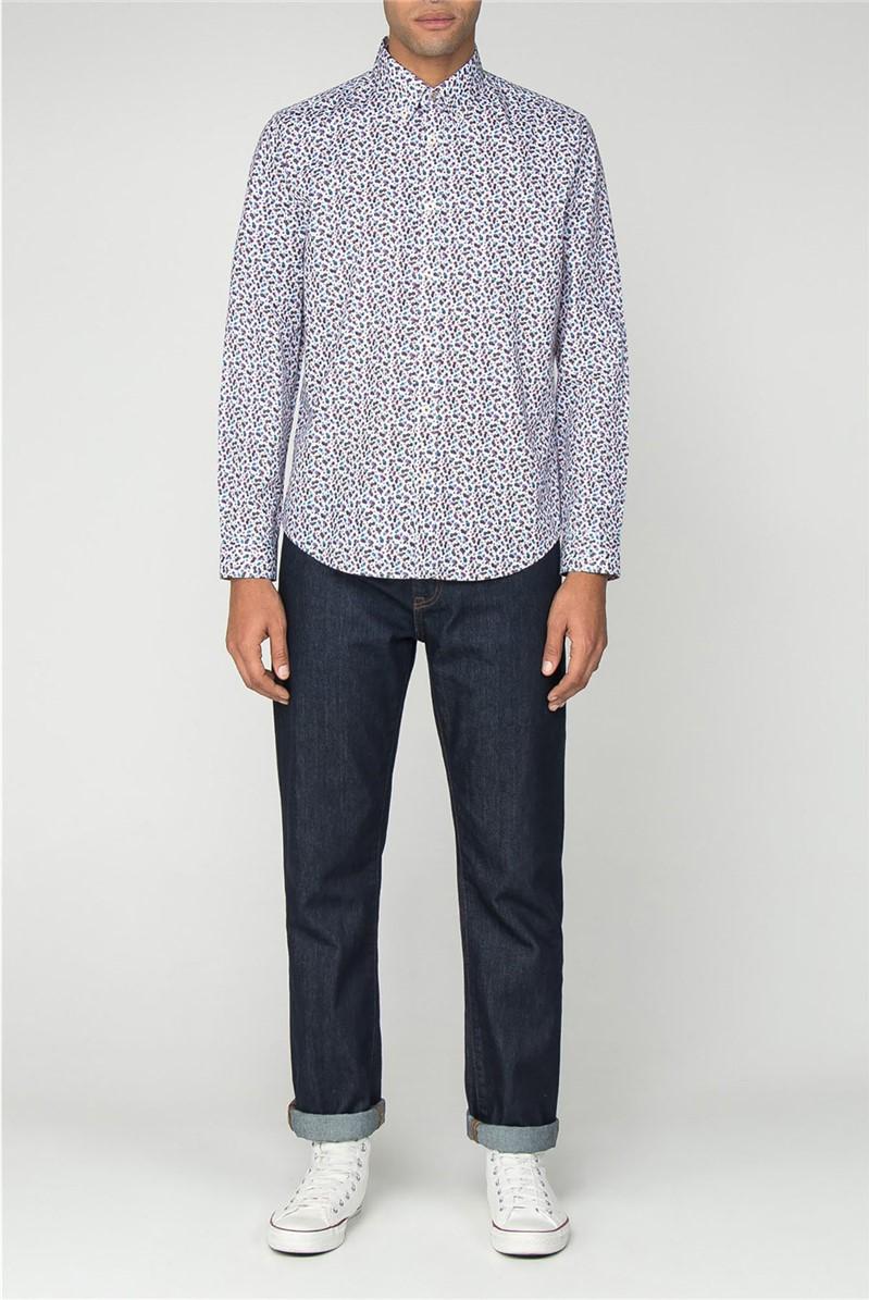 Short Sleeve Micro Tropic Floral Shirt