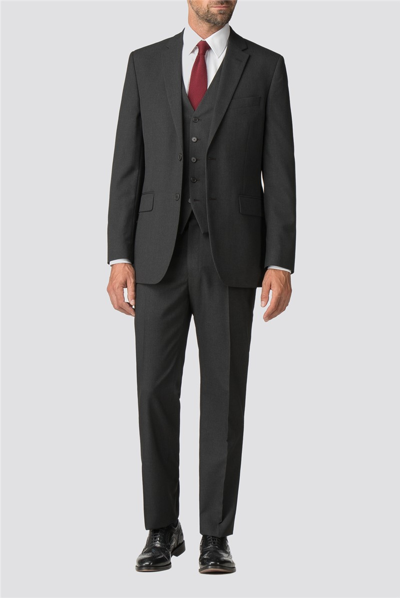 Charcoal Tailored Trousers