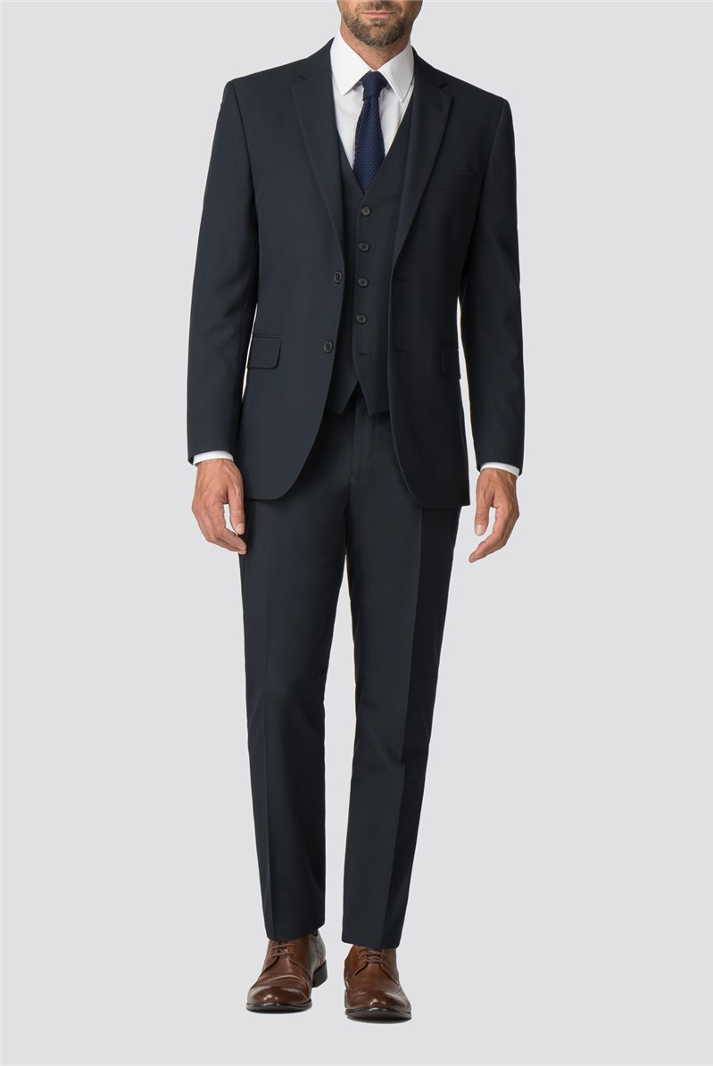 Navy Tailored Trousers