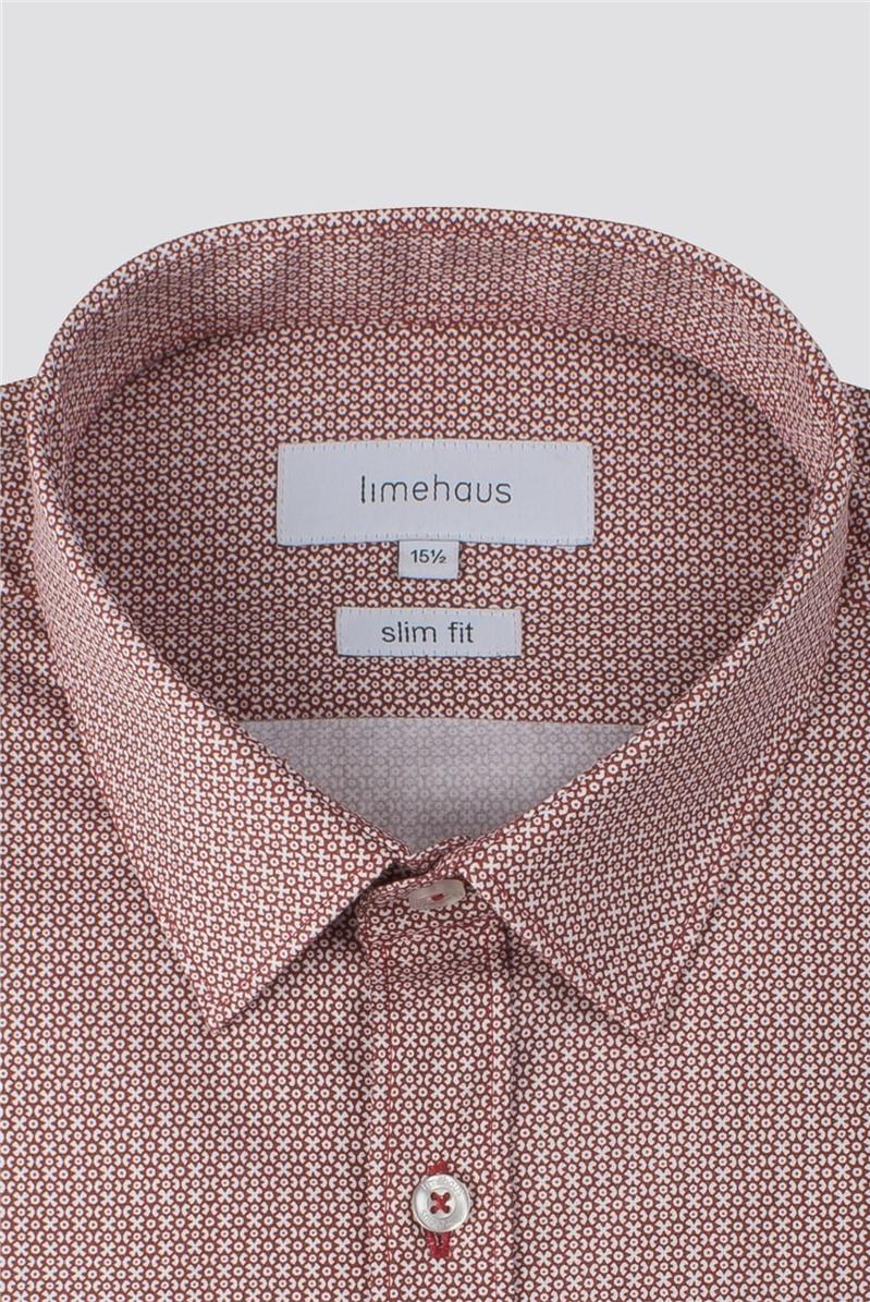 Wine Print Shirt