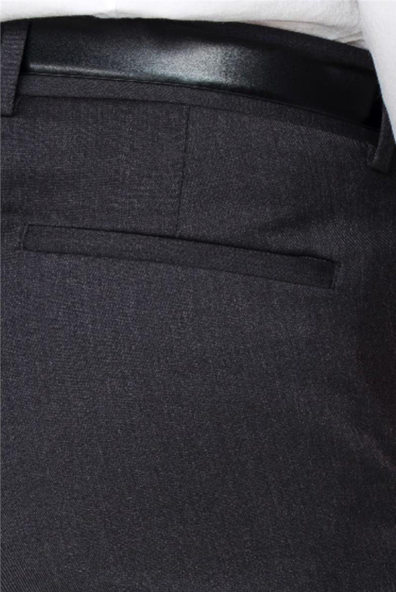 Fahrenheit Grey Wool Blend Trouser