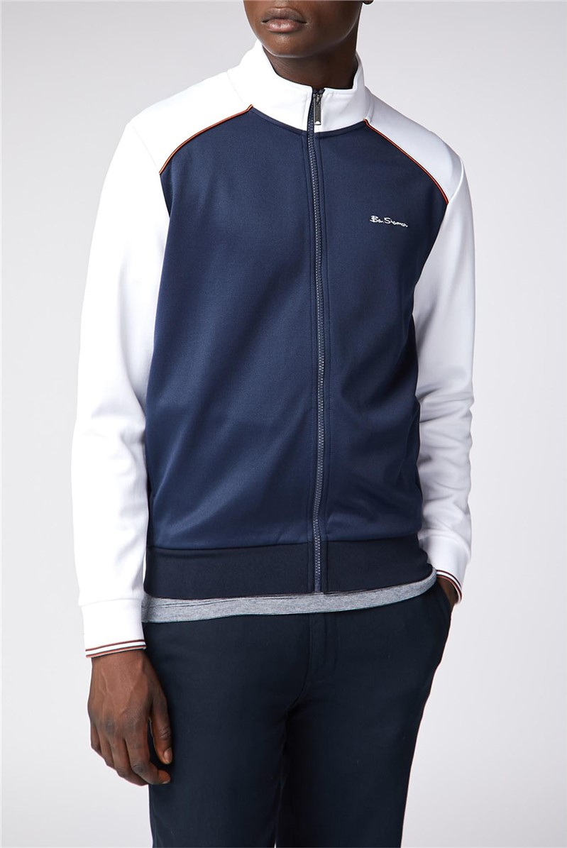 Panelling Tricot Track Top