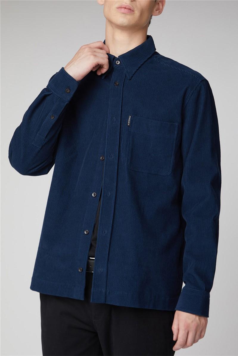 Long Sleeve Corduroy Overshirt