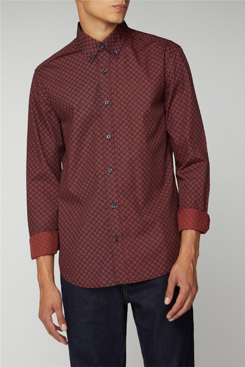 Long Sleeve Geo Shirt