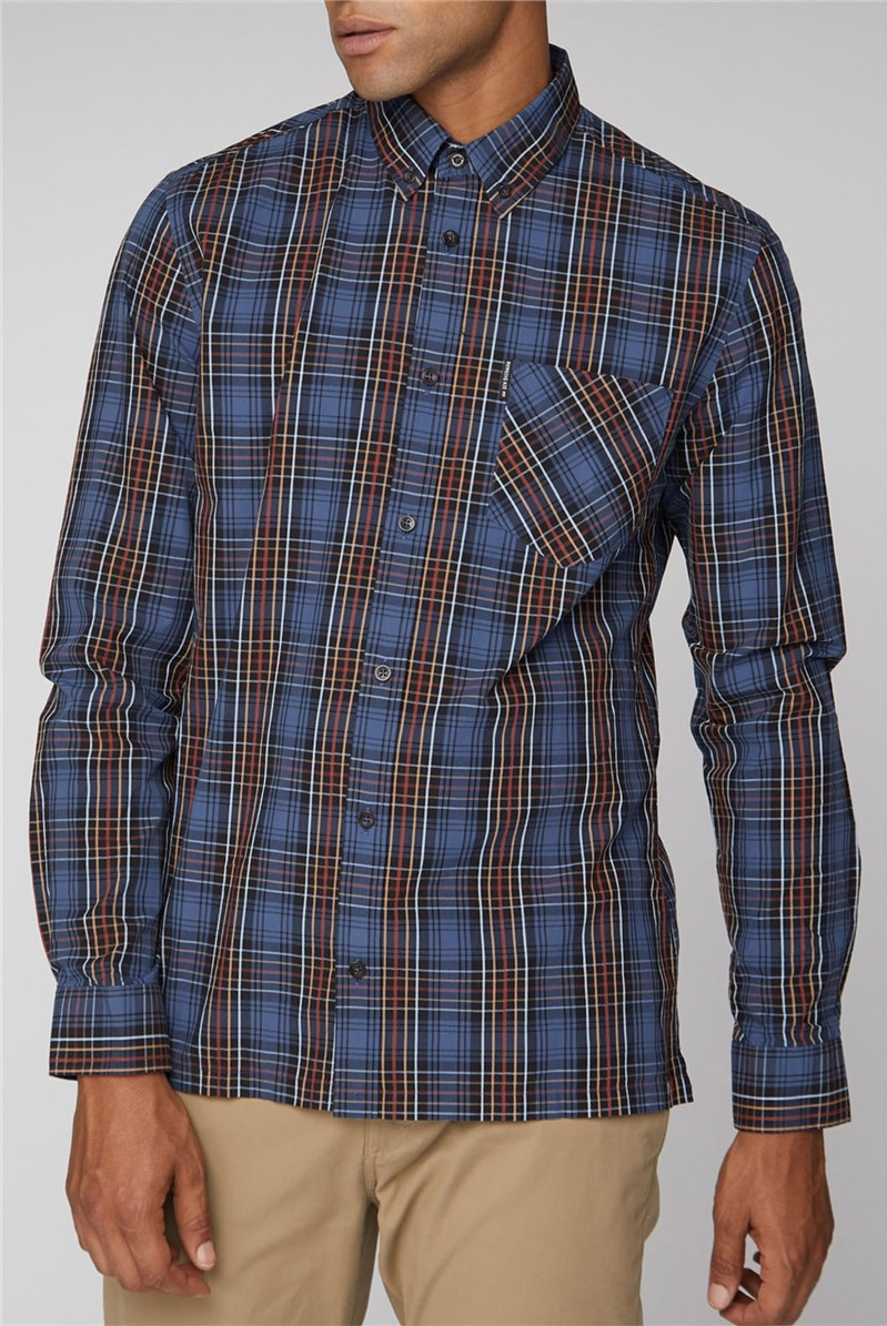 Long Sleeve Tartan Check Shirt