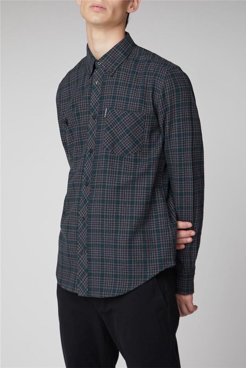 Long Sleeve Brushed Check Shirt
