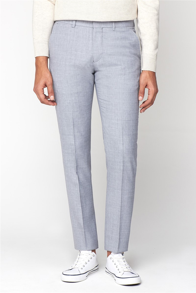 Cool Grey Texture Camden Trouser
