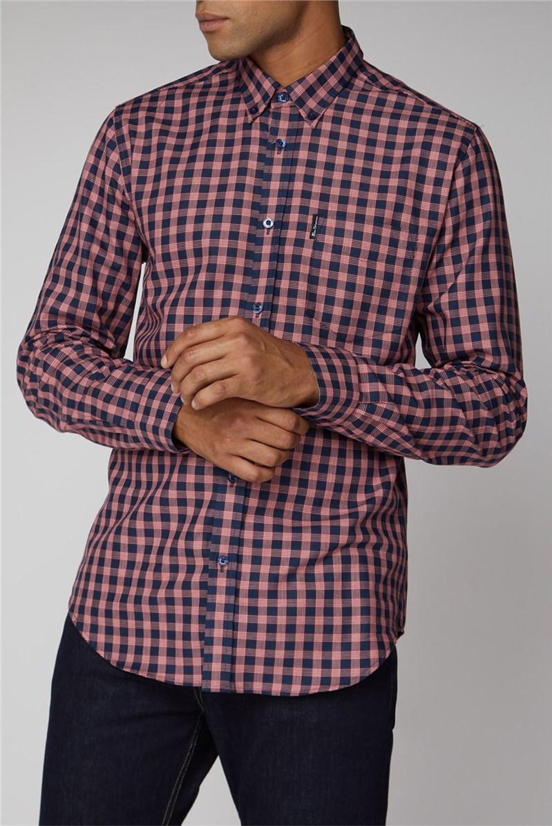 Basket View Gingham Shirt