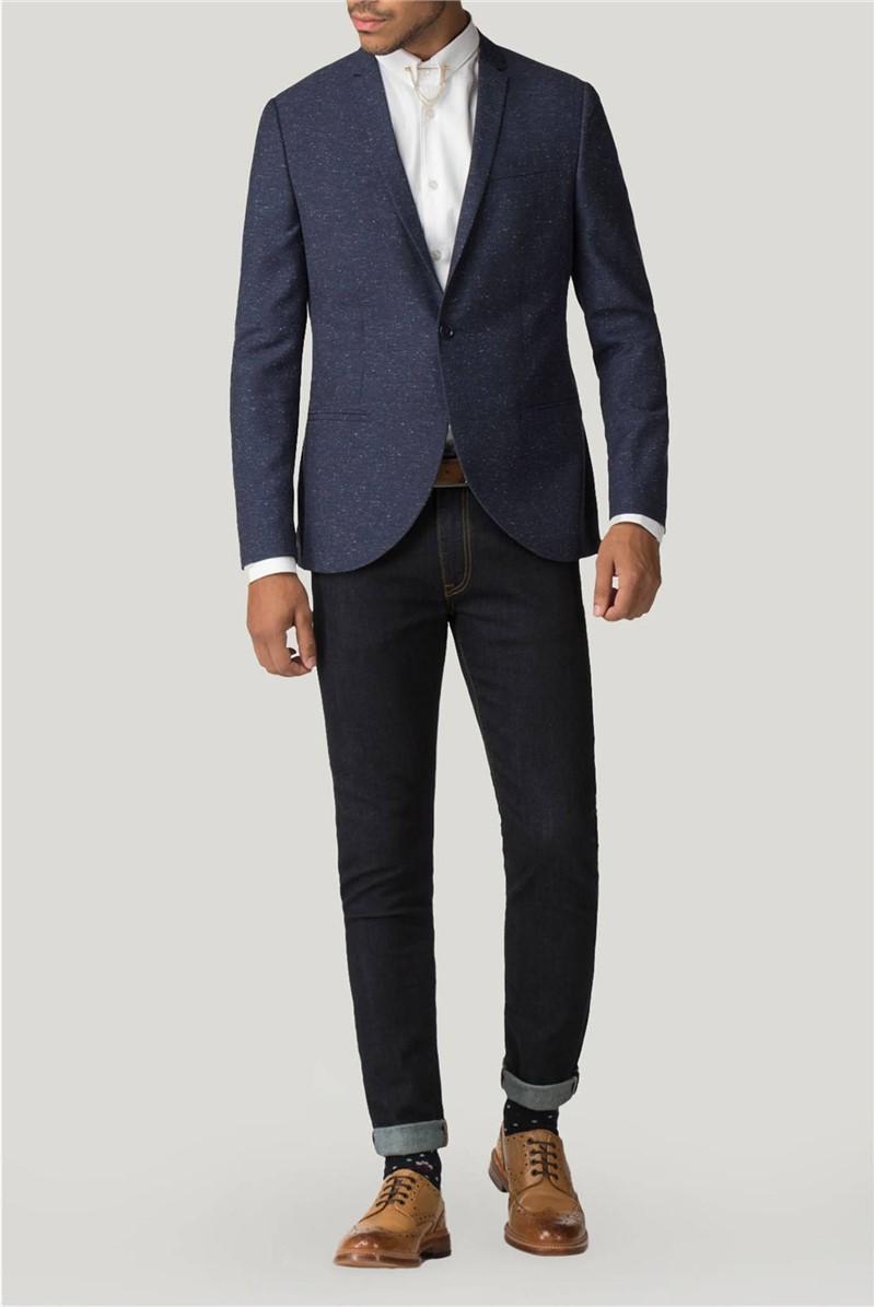 Stutgart Navy Speckle Jacket