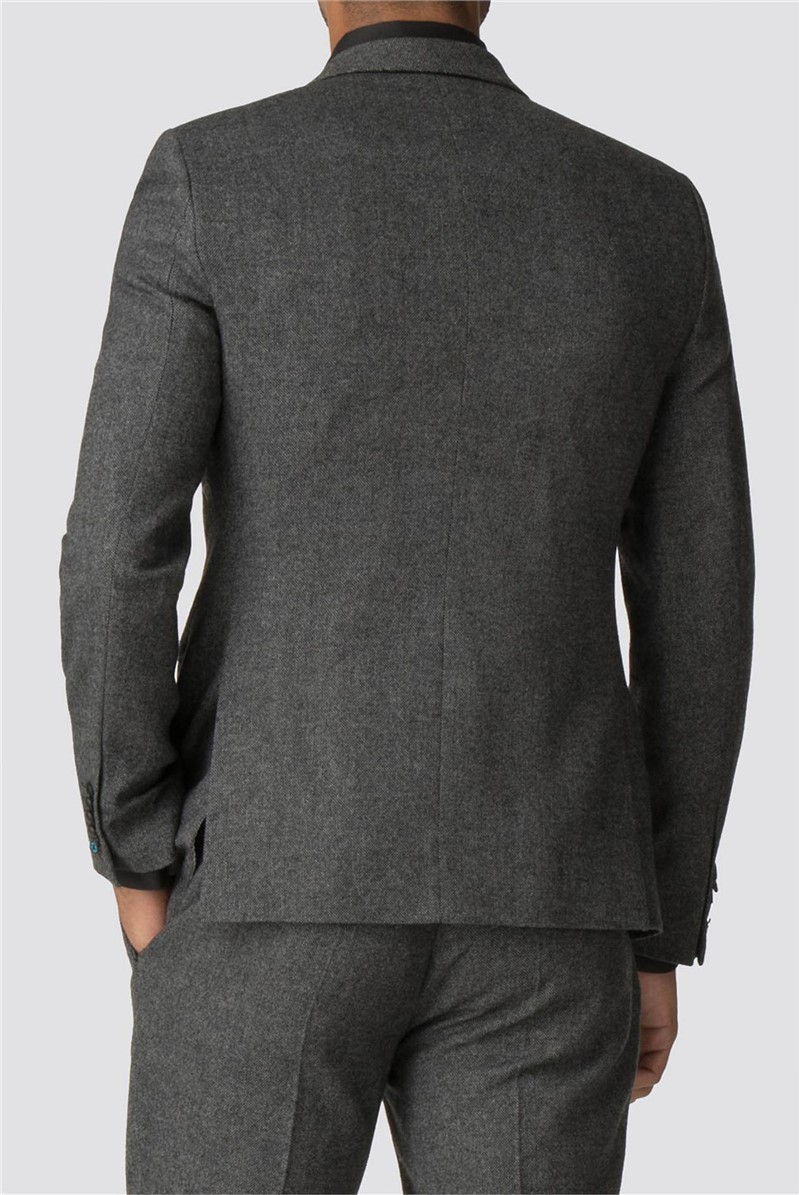 Faray Charcoal Donegal Skinny Fit Jacket