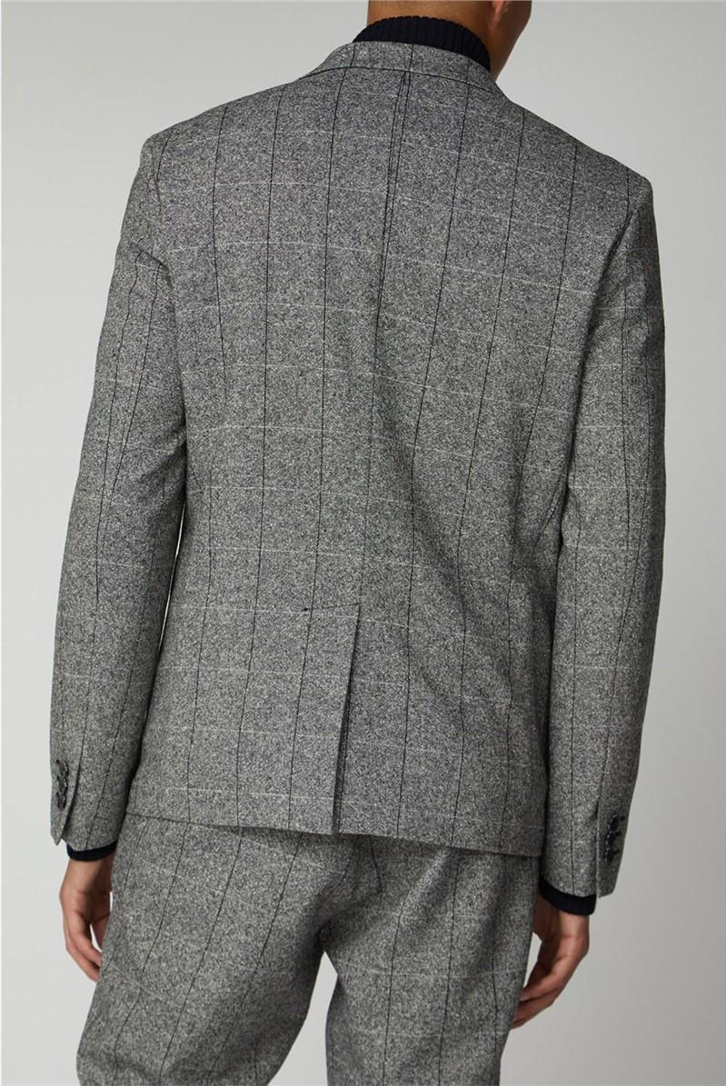 Salt and Pepper Suit Jacket
