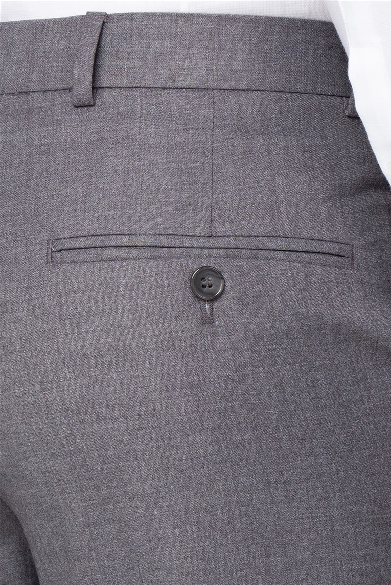 Occasions Grey Regular Fit Trouser