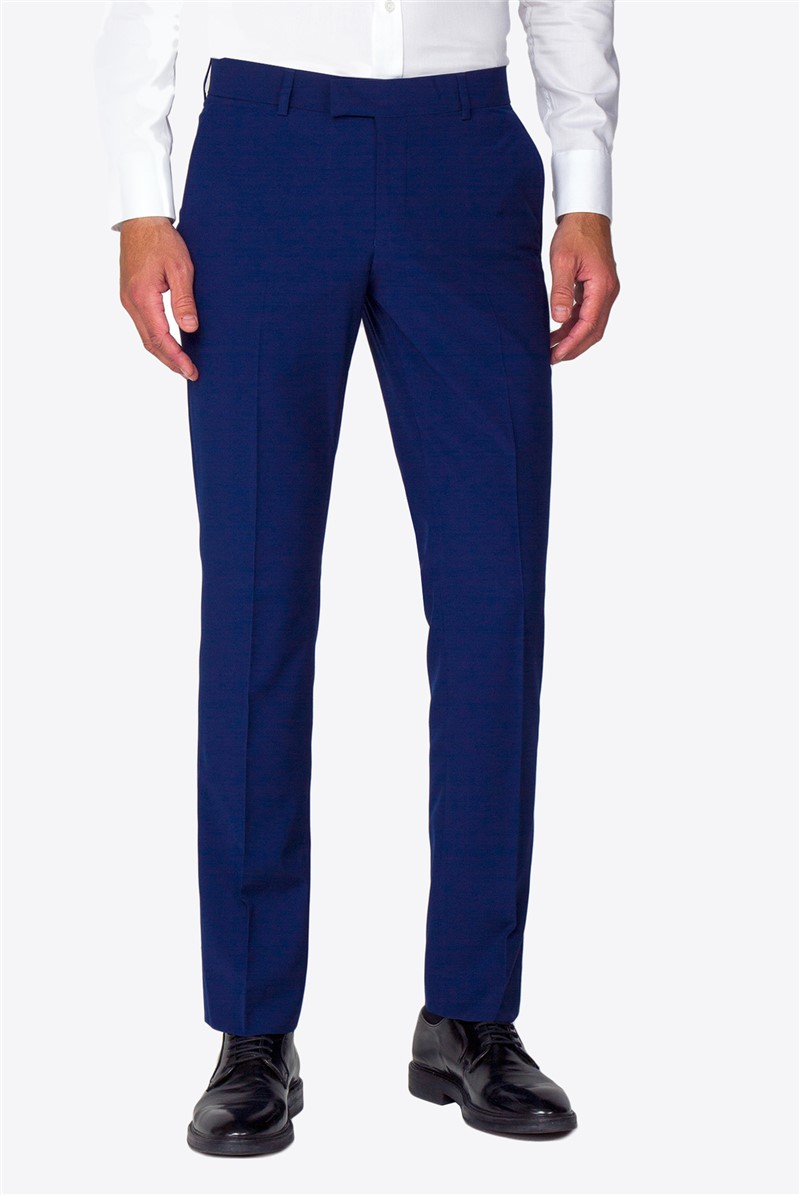 Occasions Blue Regular Fit Trouser