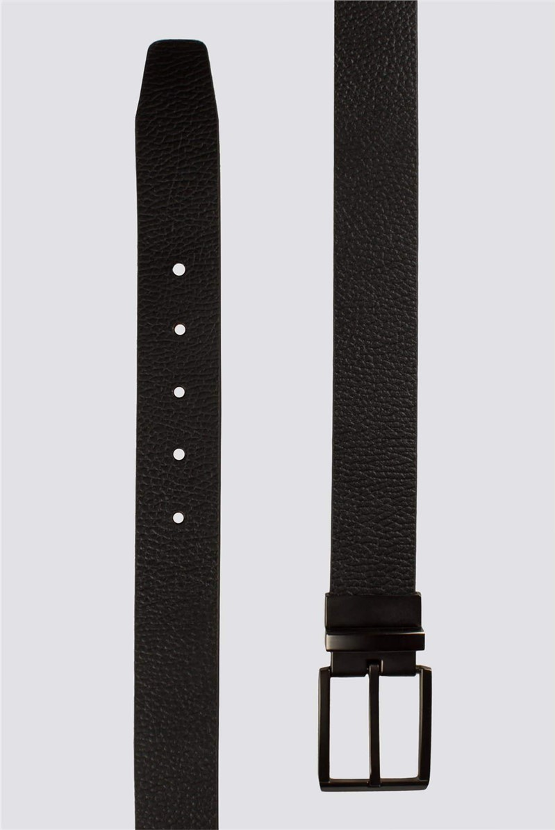 Black Brown Reversible Belt
