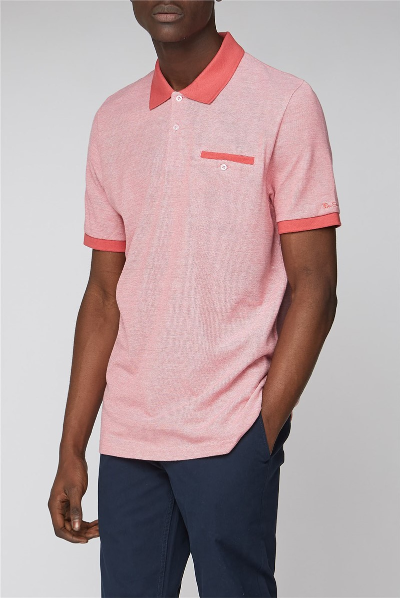 Red Oxford Tonic Polo