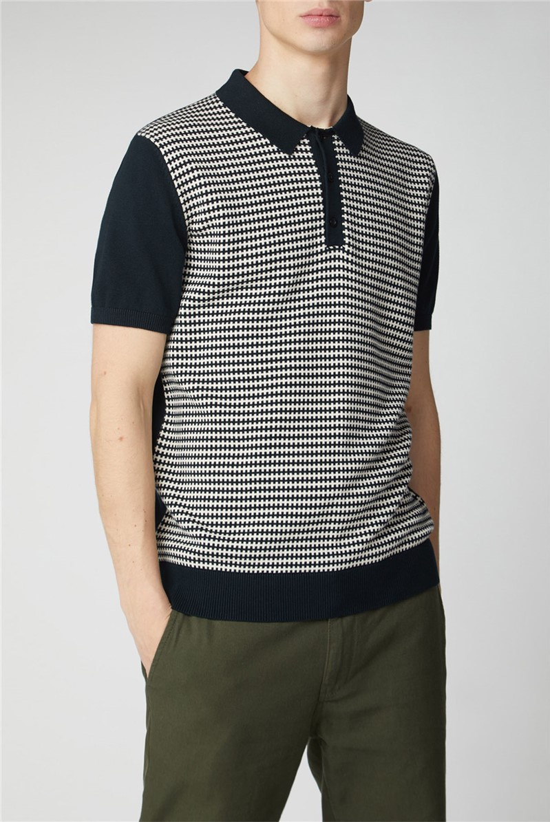 Knitted Geo Polo