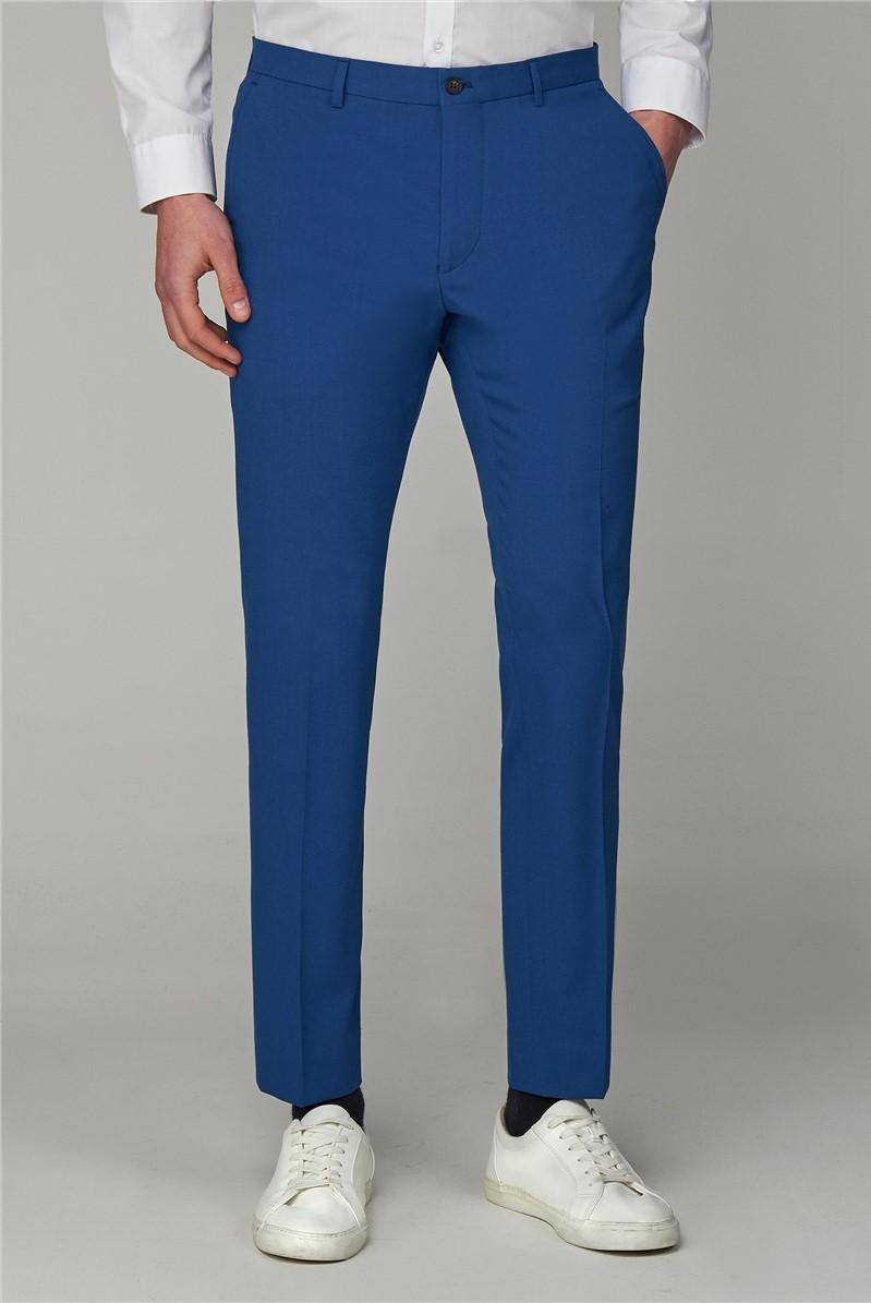Rich Blue Skinny Fit Suit