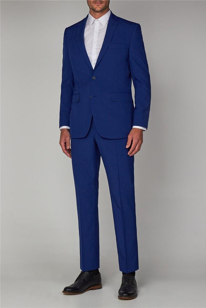 Cobalt Blue Regular Fit Suit