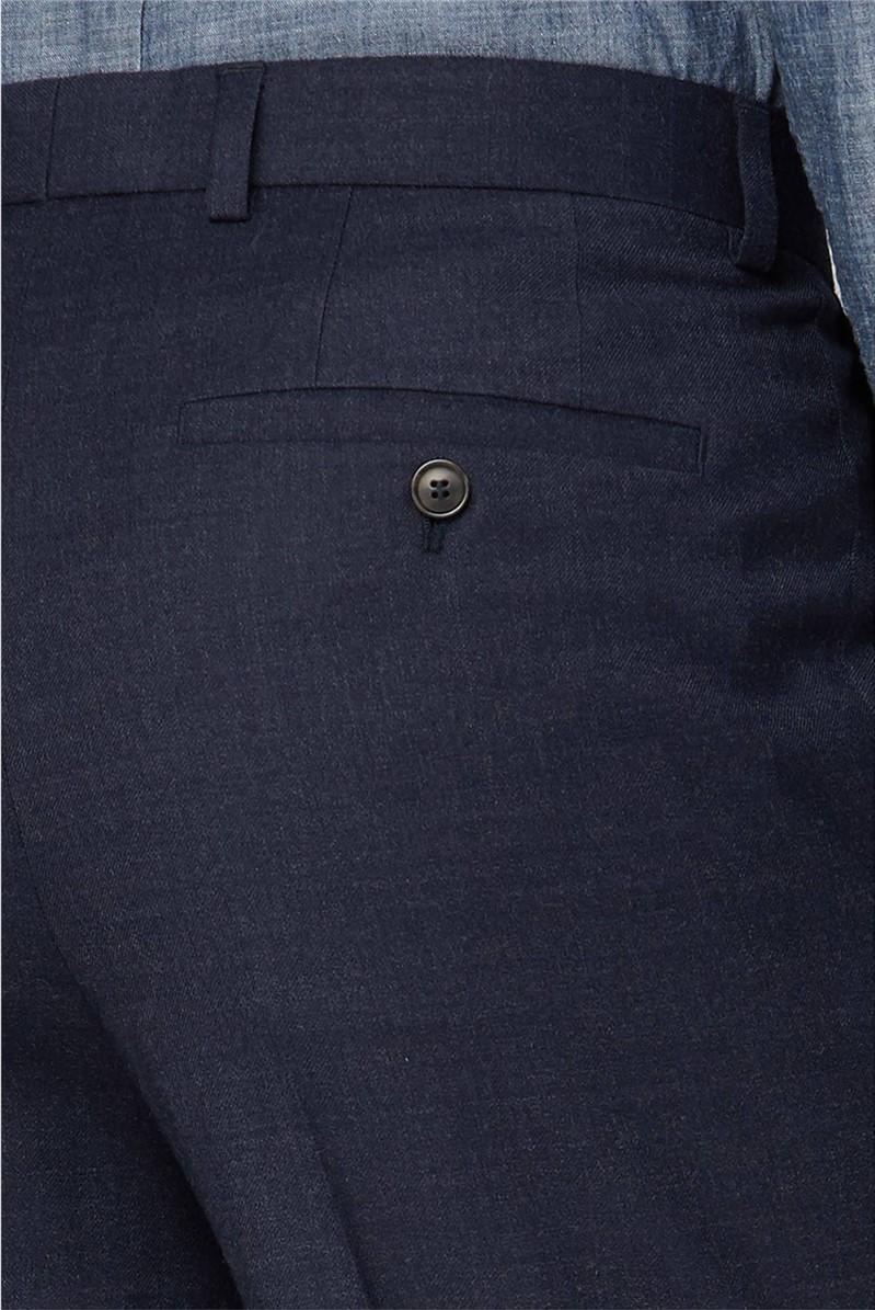 Navy Flannel Trouser