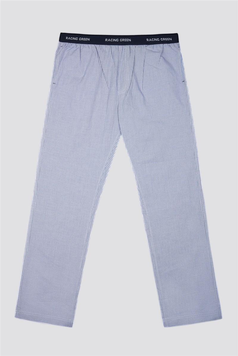 Check Cotton Loungewear Bottoms