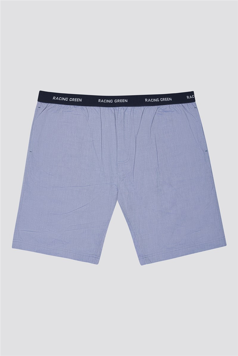 Cotton Oxford Loungewear Shorts