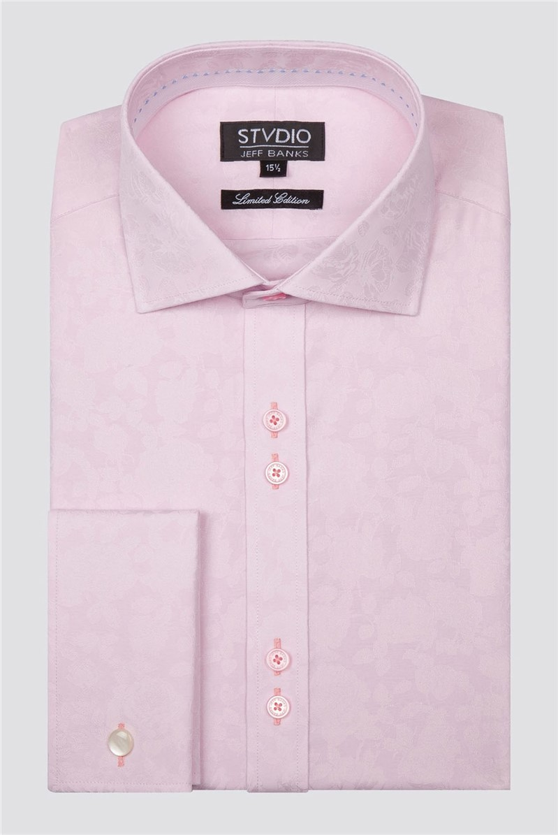 Stvdio by Limited Edition Large Floral Jacquard Shirt