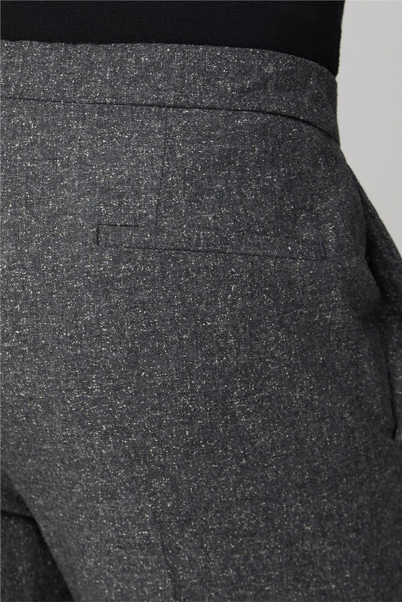 Charcoal Speckle Elasticated Camden Trouser