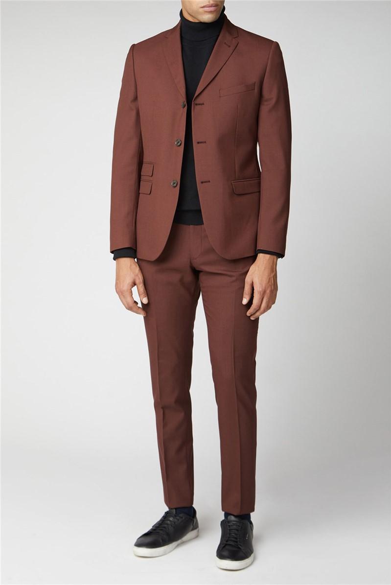 Tobacco Tonic Suit Jacket