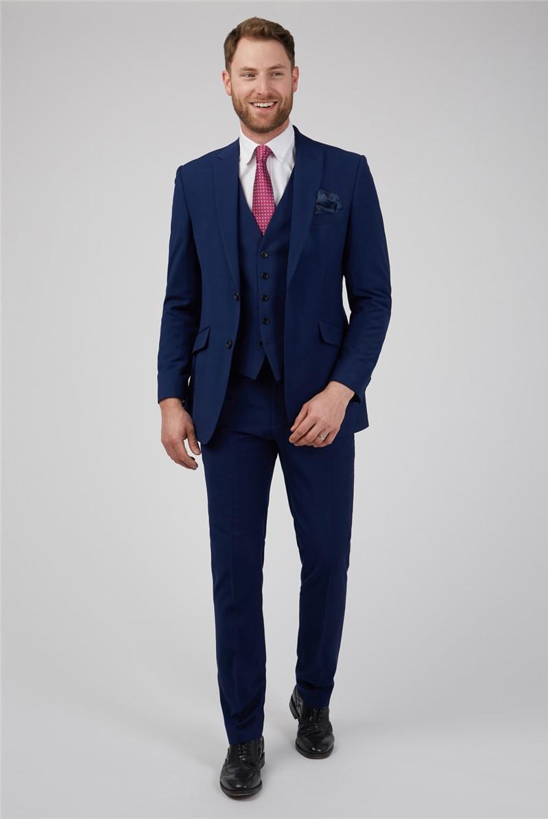 Blue Wedding Waistcoat