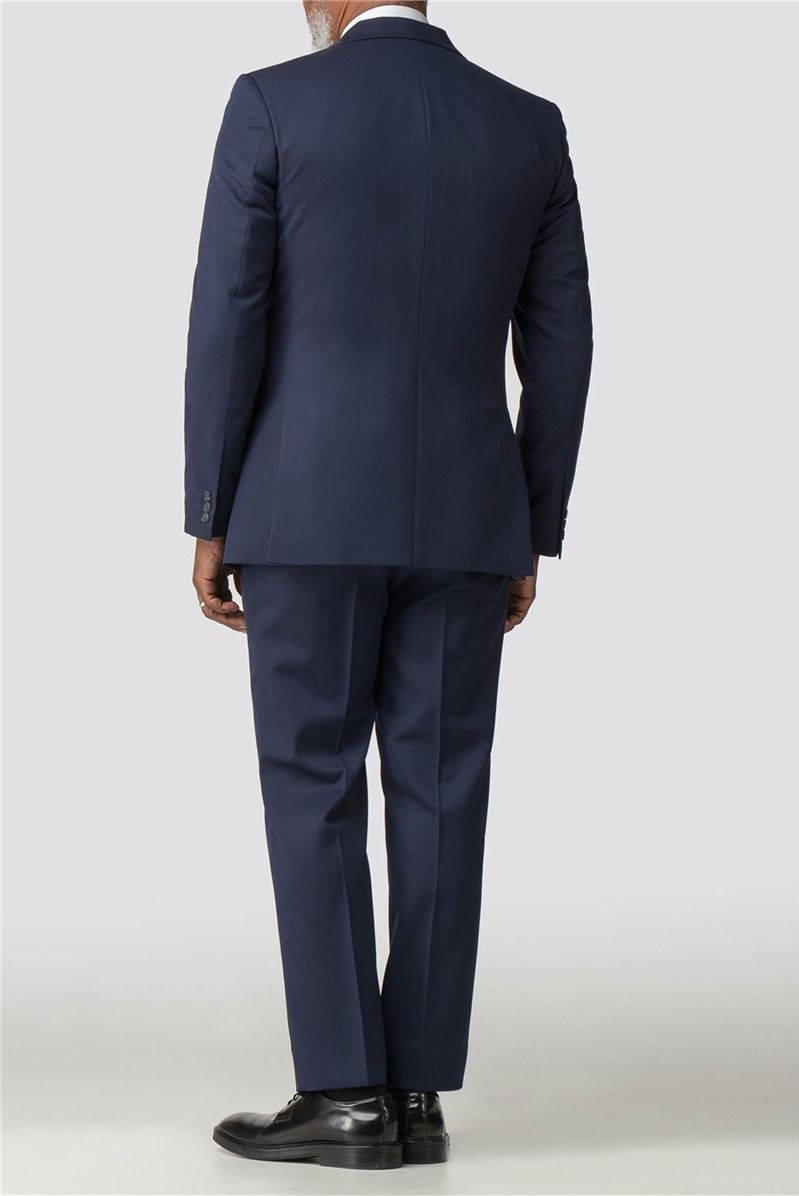 Navy Twill Performance Trousers