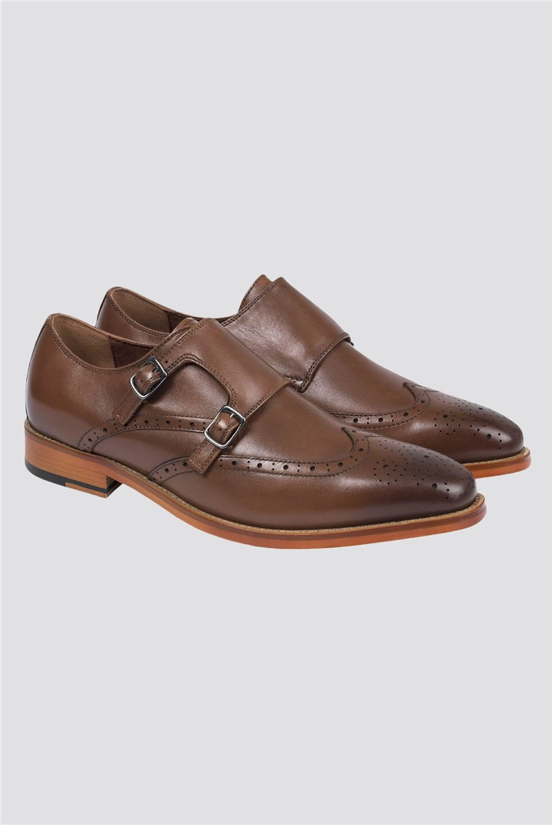 Brown Monk Shoe