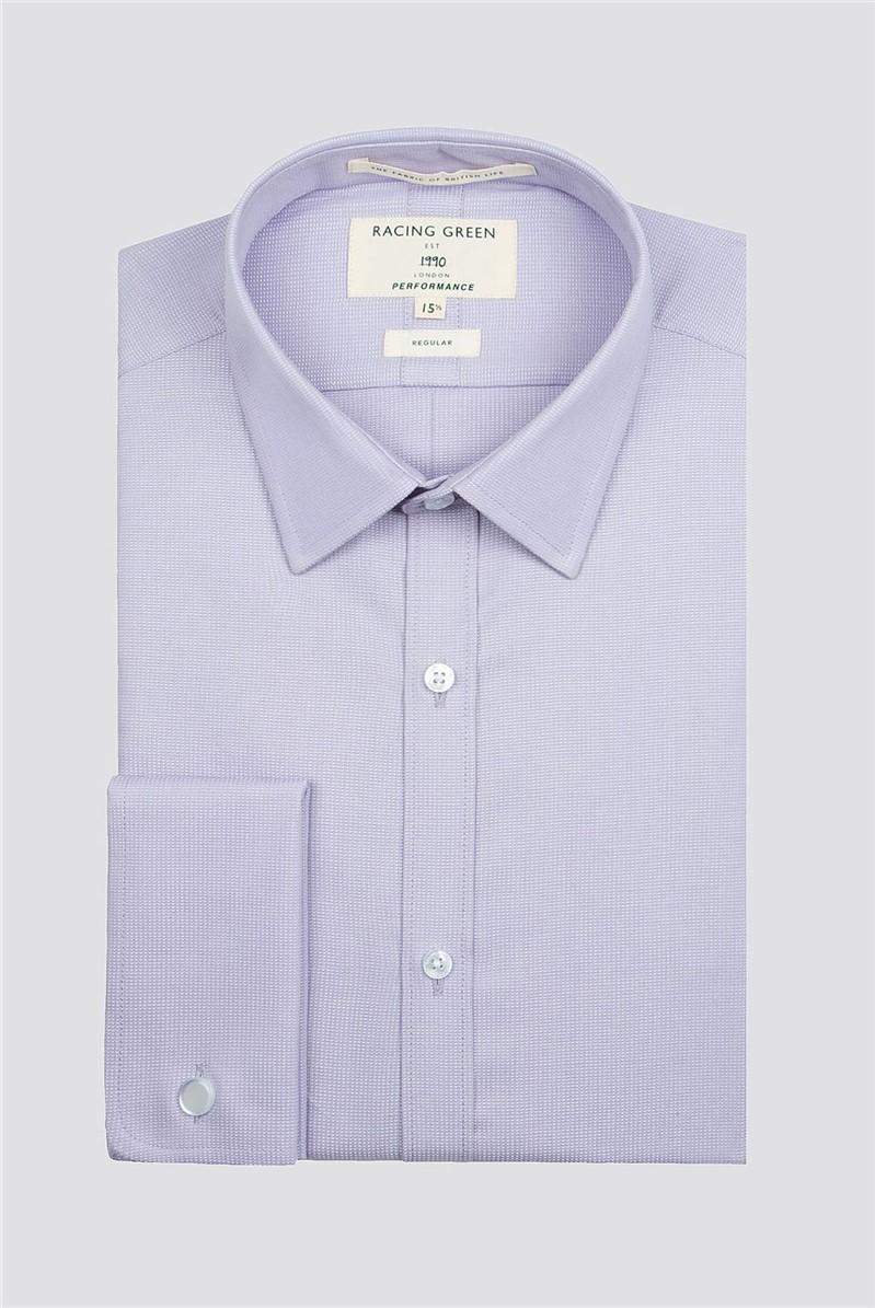 Lilac Dobby Performance Shirt