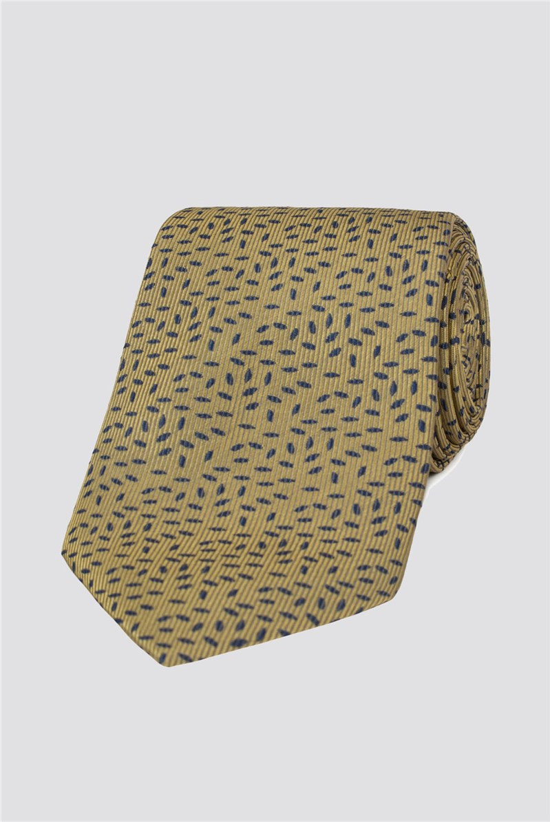 Stvdio Gold Speckle Tie