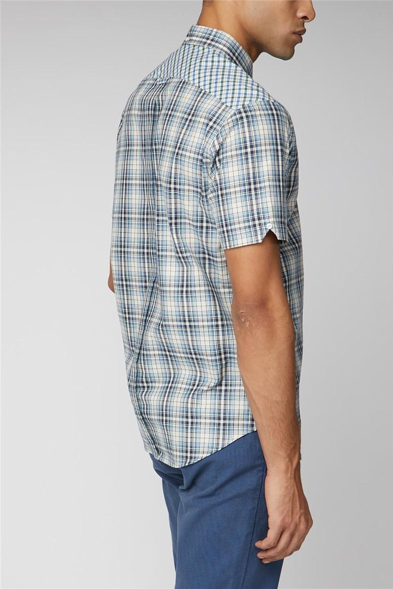 Mixed Check Shirt