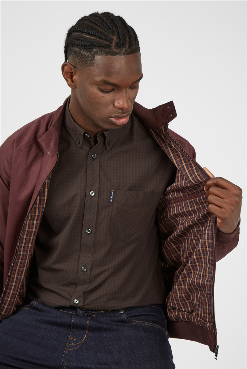 Cocoa Signature Gingham Long Sleeved Shirt