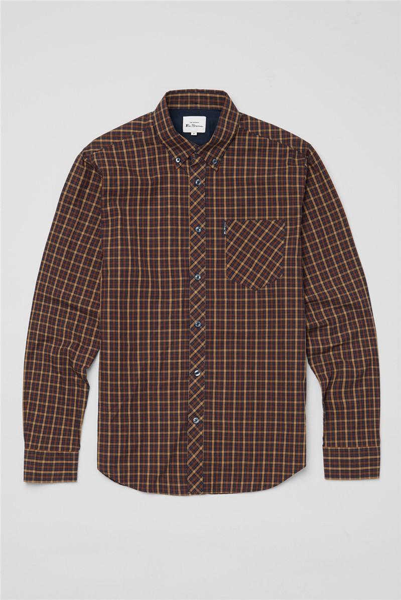 Signature House Check Shirt - Marine